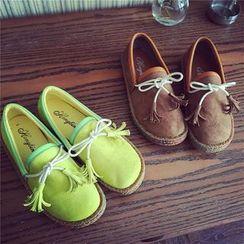 時尚麥樂 - 吊蘇平跟鞋