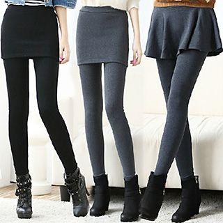 Daisyfield - Inset Skirt Leggings (3 Designs)