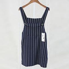 Fashion Street - Striped Jumper Skirt