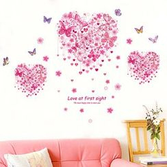 LESIGN - Heart Wall Stickers