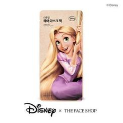 The Face Shop - Disney Rapunzel Hair Mask Pack 1pc