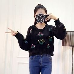 Honeydew - 刺繡毛衣