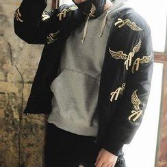 Streetstar - Embroidered Bomber Jacket