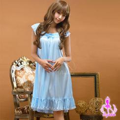 Ayoka - 夢幻粉藍睡裙