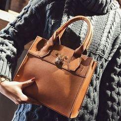 Shinian - 仿皮手提包