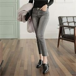 CHICLINE - Washed Skinny Jeans