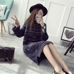 Qimi - Striped Sweater Dress