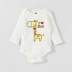 MOM Kiss - Baby Printed Bodysuit