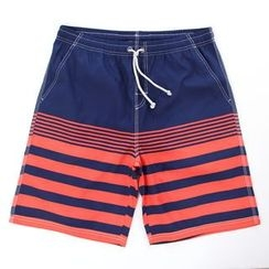 Mermaid's Tale - Striped Swim Shorts