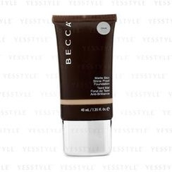 Becca - Matte Skin Shine Proof Foundation - # Olive
