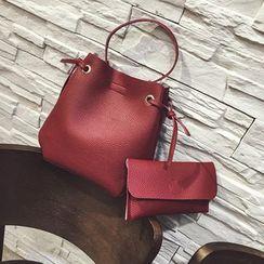 Diamante - 套装: 仿皮手提包 + 手包