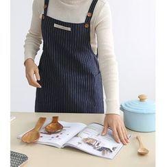 iswas - 细直条纹围裙