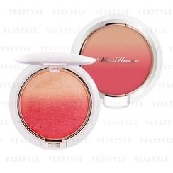 Miss Hana - Apple Cheek Gradation Powder Blush (#02 Coral-Red Grenache)