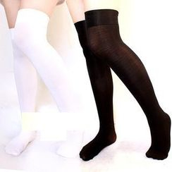 Ghost Cos Wigs - Knee High Socks
