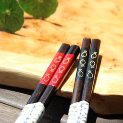 Timbera - Couple Wood Chopsticks