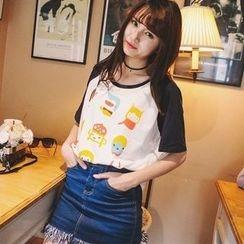 Wimi girls - Short-Sleeve Print T-Shirt
