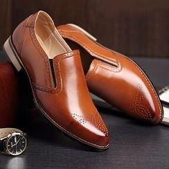 NOVO - Genuine Leather Brogues