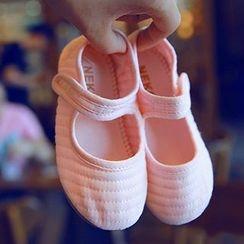 BOOM Kids - 小童魔術貼扣帶平跟鞋