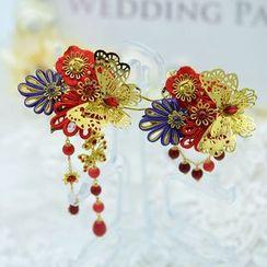 Ashmi - Bridal Butterfly Hair Clip