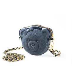 Adamo 3D Bag Original - Bow Bear 3D Handbag