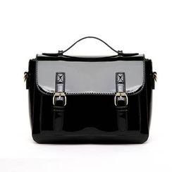 Beloved Bags - Patent Satchel Bag