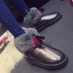 SouthBay Shoes - Furry Snow Boots