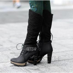 SO Central - Buckled Tall Boots