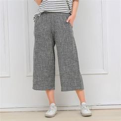 Meigo - 宽身短款裤