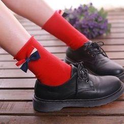 NECTARY - Bow Accent Socks