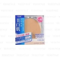 DHC - Lasting White Powdery Foundation SPF 40 PA+++ (#01) (Refill)