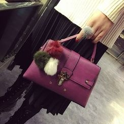 Bag Affair - Pompom Satchel