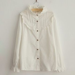 Angel Love - Frilled Trim Shirt
