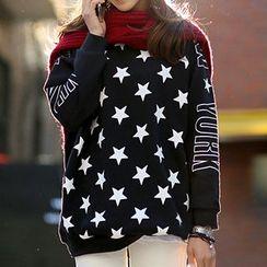 Lina - Star Print Pullover