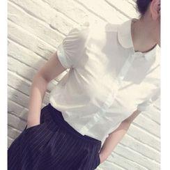 Pluvio - Plain Short Sleeve Shirt