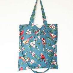 TangTangBags - Floral Canvas Shopper Bag