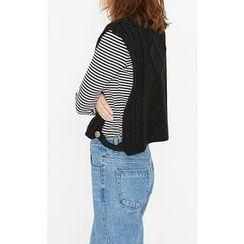 Someday, if - Turtleneck Knit Vest