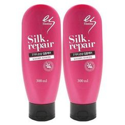Elastine - Set of 2: Silk Repair 7 Hair Treatment 300ml