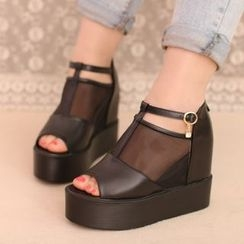 IYATO - Wedge Sandal Boots