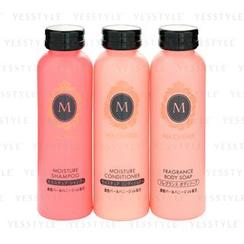 Shiseido - Ma Cherie Moisture Set: Shampoo 50ml + Conditioner 50ml + Soap 50ml