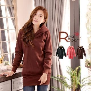 RingBear - Fleece-Lining Long Pullover