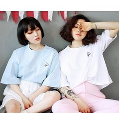 YOSH - Drop-Shoulder Short-Sleeve T-Shirt