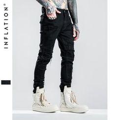 Newin - Distressed Slim-Fit Jeans
