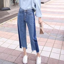 Denimot - 九分直筒牛仔裤