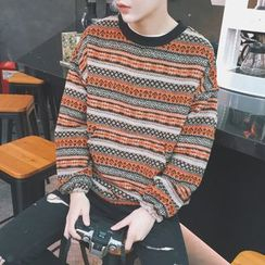Soulcity - Patterned Sweater