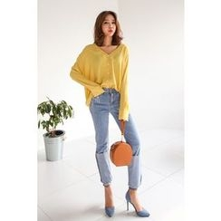 PPGIRL - V-Neck Blouse