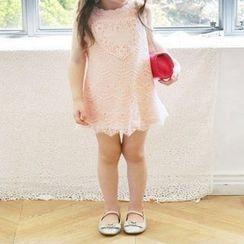 Kidora - 儿童蕾丝无袖连衣裙