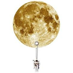 DREAMS - Planet Uchiwa (Shaped Hand Fan) (Moon)