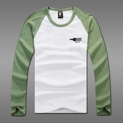 MR.PARK - Raglan Printed T-Shirt