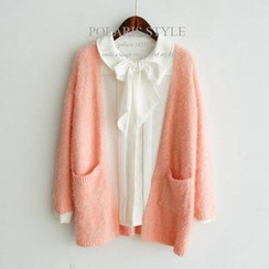 Polaris - Furry Long Cardigan
