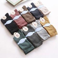 布丁坊 - 純色襪子